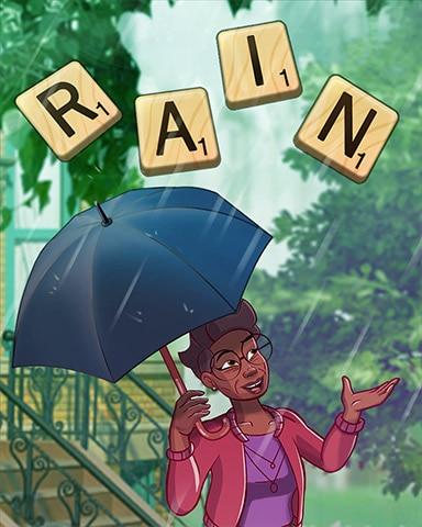 Scrabble Weather Badge - SCRABBLE
