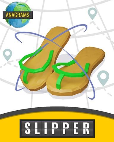 Flip Flop Flyer Badge - Anagrams
