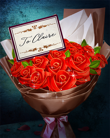 Hart-felt Bouquet Badge - Claire Hart Classic