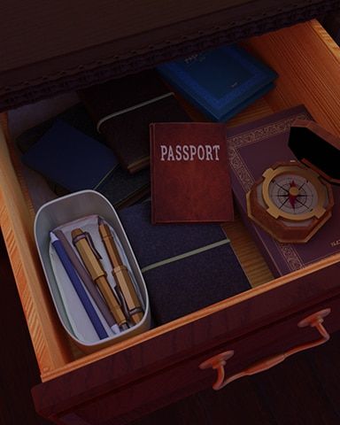 Passport Clue Badge - Claire Hart Classic