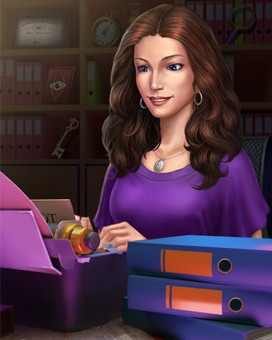 Claire The Writer Badge - Claire Hart: Secret In The Shadows