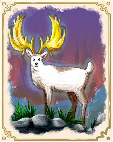 Golden Antlers Badge - StoryQuest