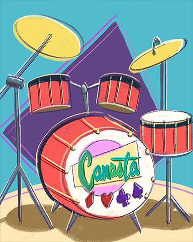 Canasta Jam Badge - Canasta HD