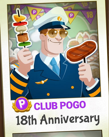 Captain Photo Booth Badge - First Class Solitaire HD