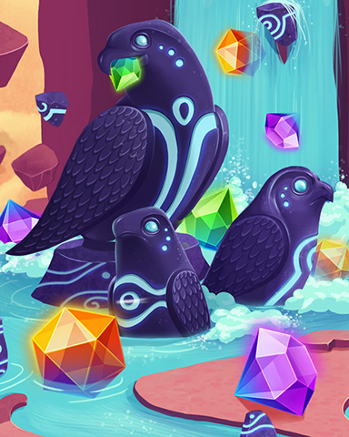 Flock Of Jewels Badge - Jewel Academy
