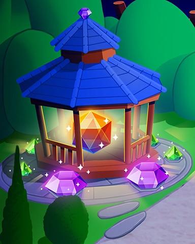 Glowing Gazebo Badge - Jewel Academy