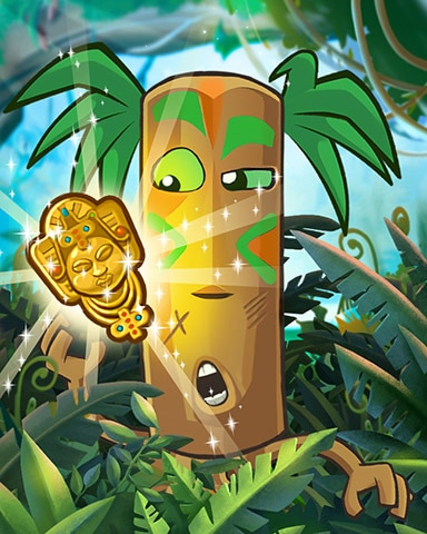Tiki Treasure Badge - Jungle Gin HD