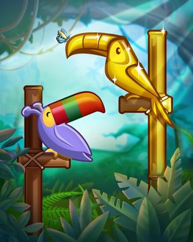 Golden Toucan Badge - Jungle Gin HD
