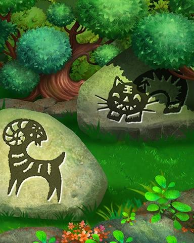 Prowling Tiger Badge - Mahjong Garden HD