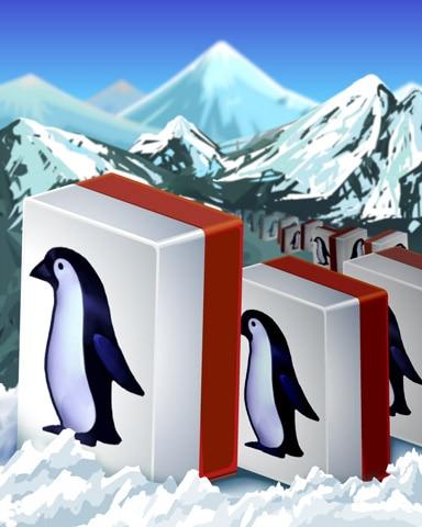 Marching Penguins Badge - Mahjong Safari HD