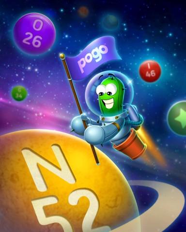 Cosmic Bingo Badge - Poppit! Bingo