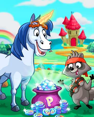 Finding A Fortune Badge - Peggle Blast HD