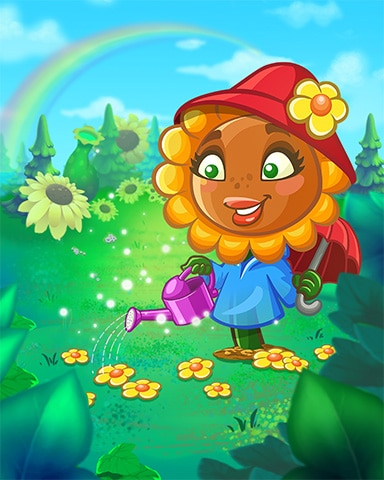 Gardening With Tula Badge - Peggle Blast HD
