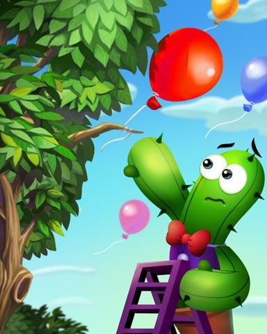 Balloon Harvest Badge - Poppit!™ HD