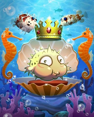 The Puffer King Badge - Quinn's Aquarium