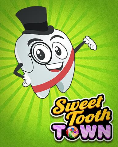 Mayor Toothy Badge - Sweet Tooth Town