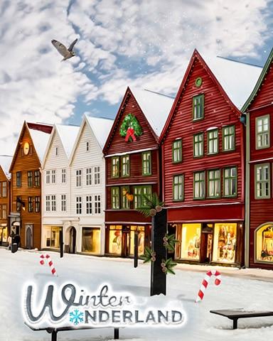 Wonderland Village Badge - Winter Wonderland