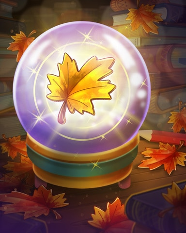 Sign Of Autumn Badge - Claire Hart Classic