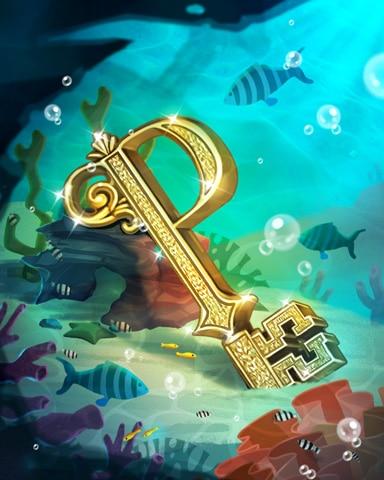 Undersea Key Badge - Claire Hart: Secret In The Shadows