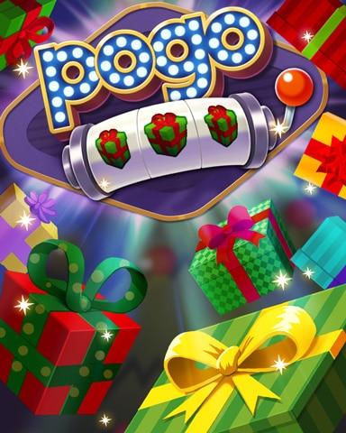 Present Jackpot Badge - Pogo™ Slots