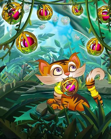 Jewels Of The Jungle Badge - Pogo™ Slots