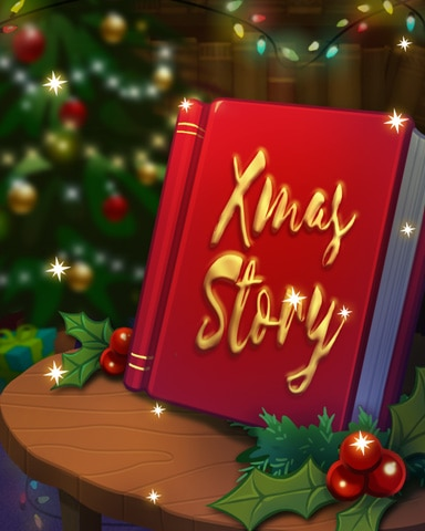 Holiday Story Badge - StoryQuest