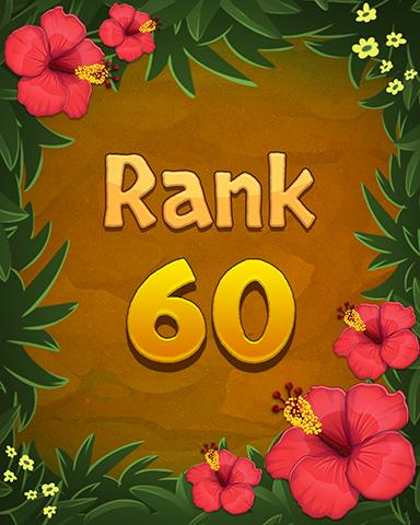 Rank 60 Badge - Mahjong Sanctuary