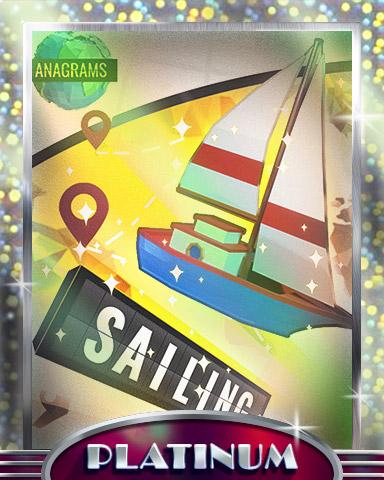 Anagrams Sailing Platinum Badge - Anagrams