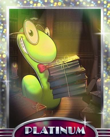 Light Reading Platinum Badge - Bookworm HD