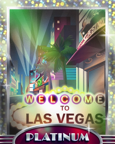 Vegas Getaway Platinum Badge - Cross Country Adventure