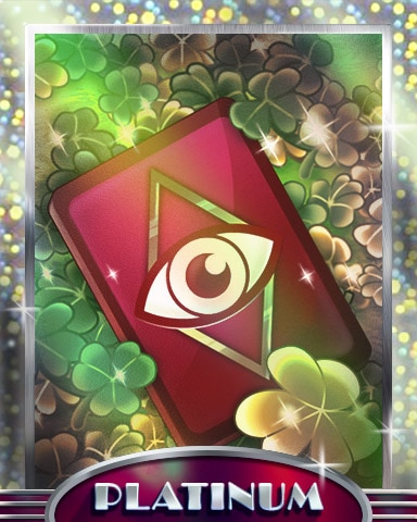 Lucky Clairvoyant Platinum Badge - Claire Hart: Secret In The Shadows