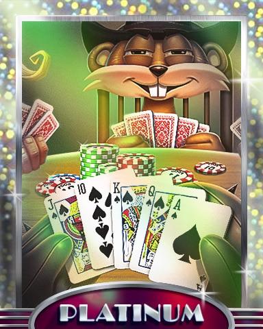 No Telling Platinum Badge - Double Deuce Poker HD