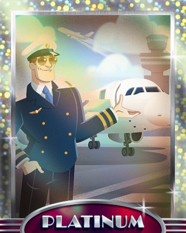 Captain's Chariot Platinum Badge - First Class Solitaire HD