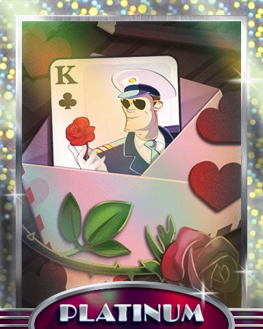 The Love Captain Platinum Badge - First Class Solitaire HD