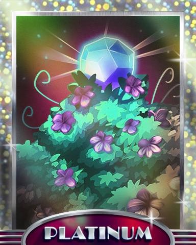 Jewel Of The Garden Platinum Badge - Jewel Academy