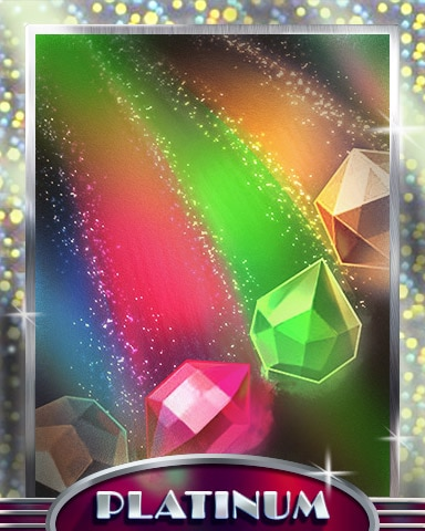 Jewel Rainbow Platinum Badge - Jewel Academy