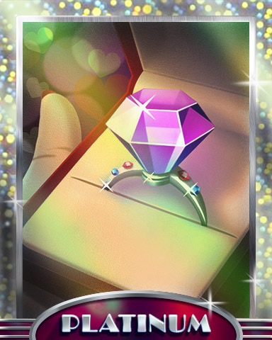 Jewel Of Love Platinum Badge - Jewel Academy