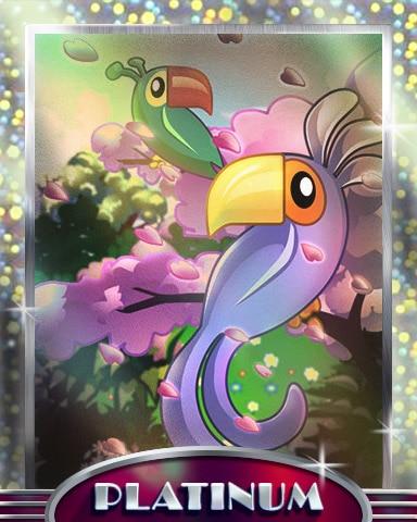 Toucans In Paradise Platinum Badge - Jungle Gin HD