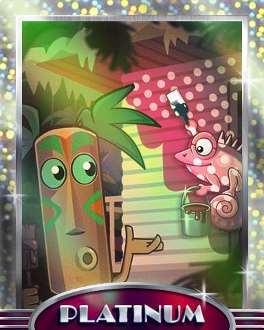 Matching Painter Platinum Badge - Jungle Gin HD