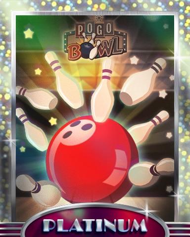 Red-Hot Strike Platinum Badge - Pogo™ Bowl
