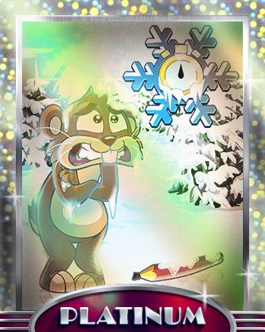 Freezing Time Platinum Badge - Pogo Daily Sudoku