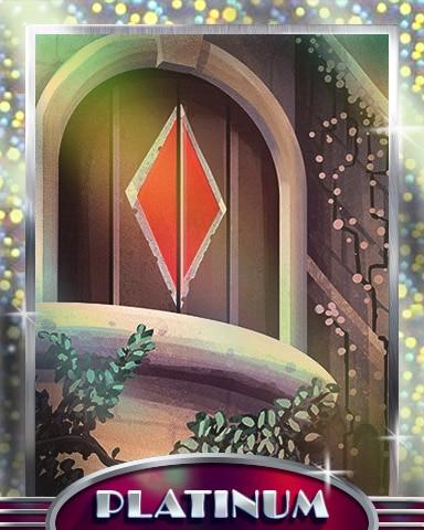 Diamond Door Platinum Badge - Payday Freecell HD