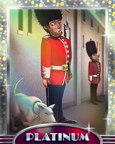 Ever Vigilant Platinum Badge - Postcards From Britain