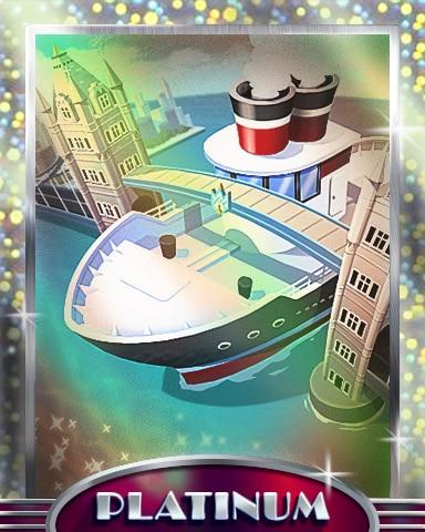 Bridge Too Far Platinum Badge - Postcards From Britain