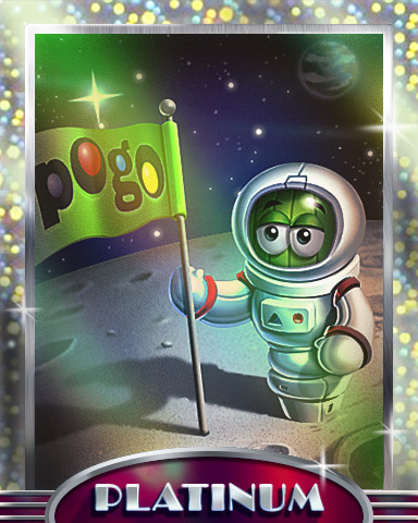 Out Of This World Platinum Badge - Poppit!™ HD