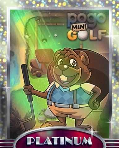 Golf With Matt Platinum Badge - Pogo Mini Golf
