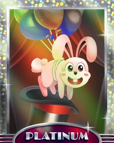 Superpop Magic Platinum Badge - Poppit! Party