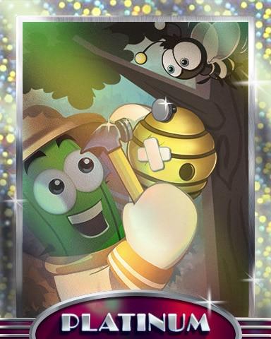Hive Repair Platinum Badge - Poppit! Party