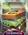 Triple Decker Platinum Badge - SCRABBLE