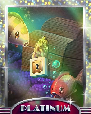 Out O Your Depth Platinum Badge - Quinn's Aquarium